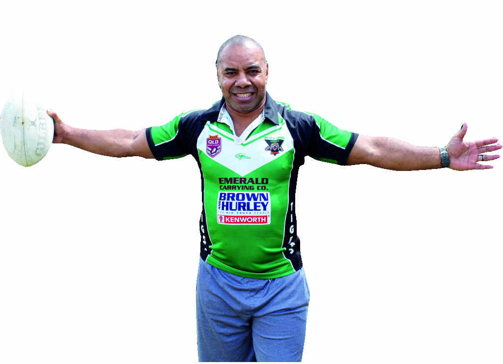 FAITH AND FAMILY: Kitione Saukuru will take the Emerald Tigers to Fiji, with his faith and family.