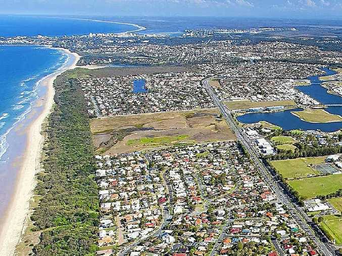 CONTROVERSIAL: Stockland's Oceanside Bokarina Beach development is sure to be one of the issues discussed at Lake Kawana Community Centre tonight.