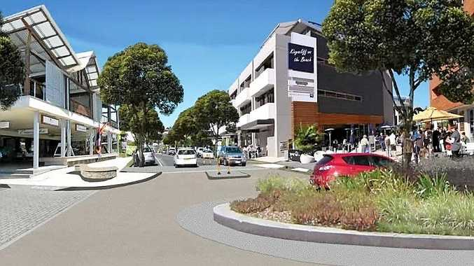 How Kingscliff's Pearl St could look under council's proposed new blueprint for the town.