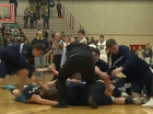 VIDEO: Basketball team celebrates too early, loses title