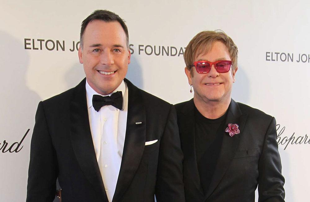 David Furnish and Sir Elton John are writing their wills.