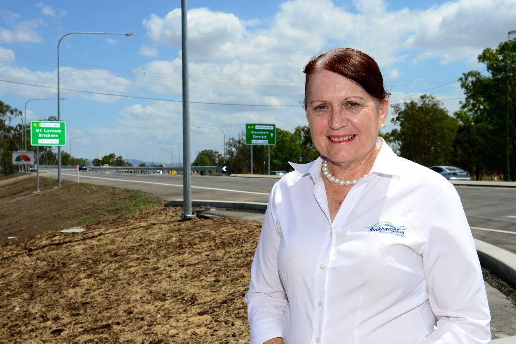 Ellen Smith is happy the Yeppen bridge will be officially open, saving travel time for commuters from Gracmere to Rockhampton. Photo Sharyn O'Neill / The Morning Bulletin
