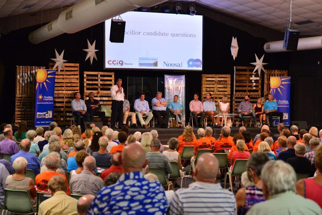 Sunshine Coast Daily election forum at Noosa Christian Outreach centre. 13