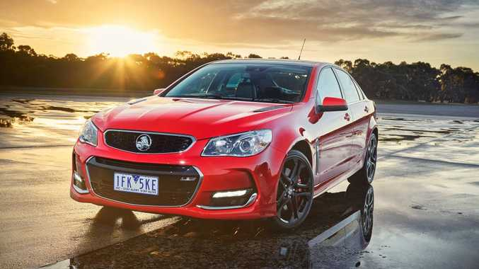 2016 Holden Commodore SSV. Photo: Contributed