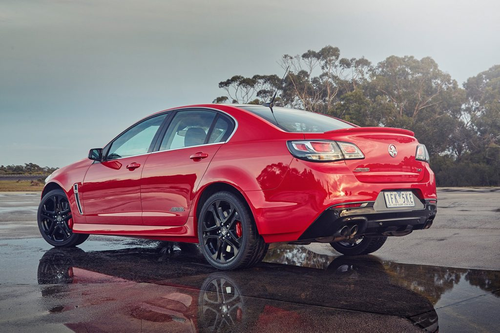 AUSSIE GRIT: Saving its best for last, Holden's Commodore is a genuine rival to pricIer performance European sedans.
