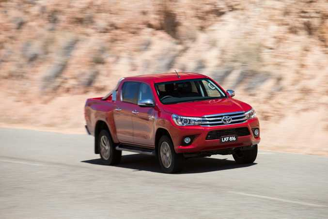 SALES CHAMP? The Toyota HiLux is in with a shout of being Australia's best selling car for 2016.