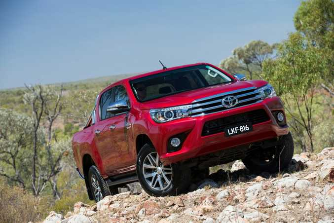READY TO RACE: Not your typical race car, but we're keen to see how a Toyota HiLux will look swapping paint with other dual cab utes.