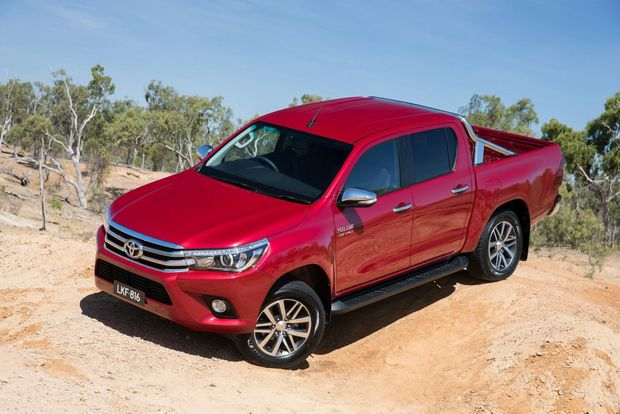 Toyota HiLux SR5 4x4 Dual Cab. Photo: Contributed