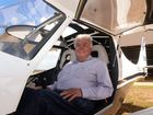 HAWESOME MATE: Seventy nine year old Pat Hawe obtained his pilot's licence recently. Photo: Mike Knott / NewsMail