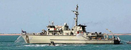 HEADING OUR WAY: The HMAS Yarra has a 50-strong crew.