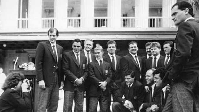 GOLDEN YEARS: An image of the 1987 Queensland origin squad.