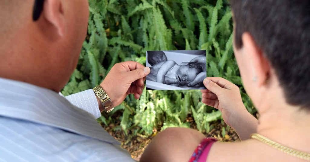 Craig remembers bathing his son, Wesley, before saying goodbye alongside his wife, Aimee.