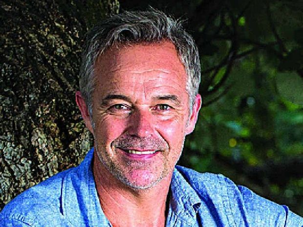 As well as his stage role Cameron Daddo is writing a book and has just released a CD, Songs from the Shed.