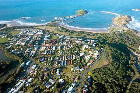 aerial Coffs Harbour Jetty area. 04 june 2015 Photo Trevor Veale / Coffs Coast Advocate