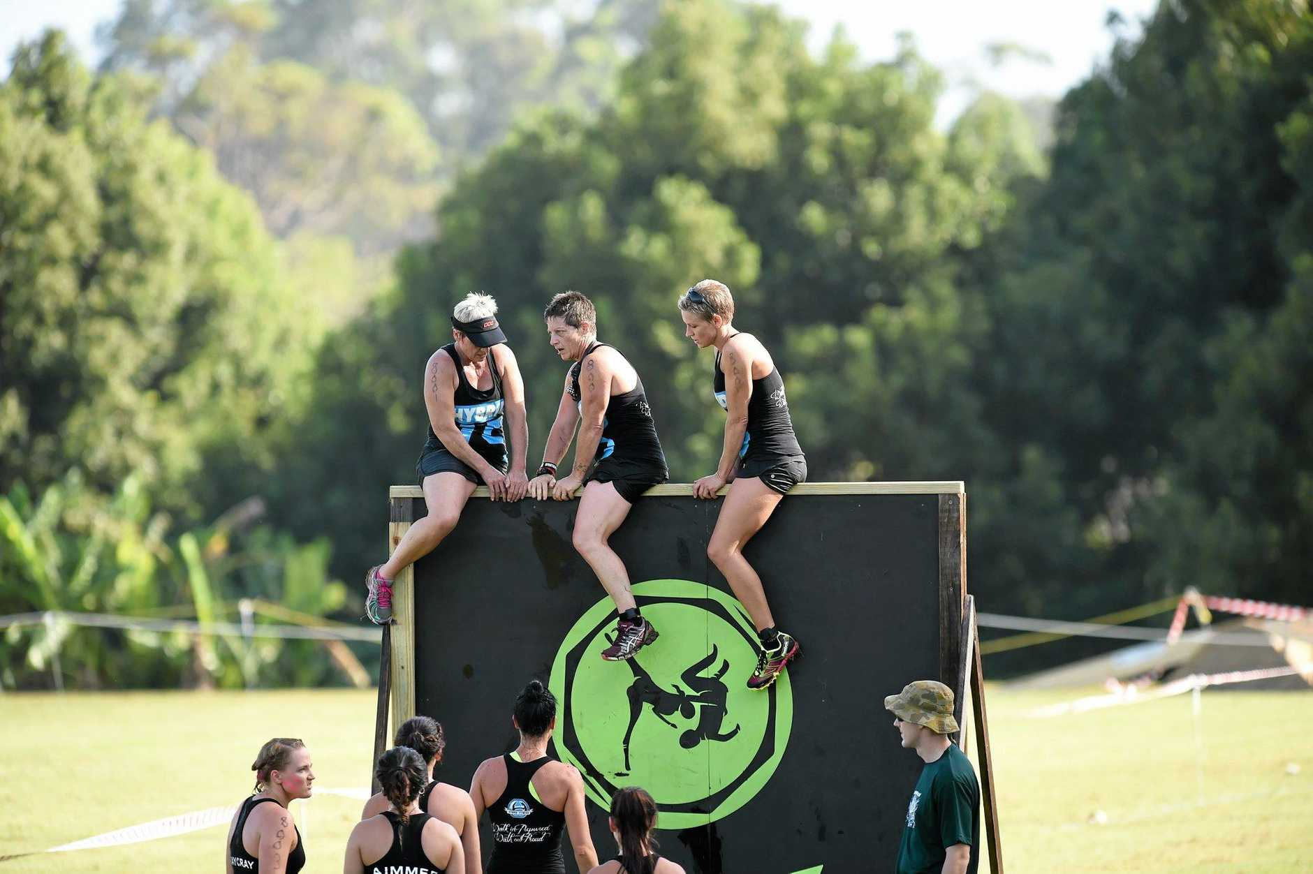 TEAM WORK: Entries are up 50% for this year's Samson Challenge to be held at Goonellabah's Hepburn Park.