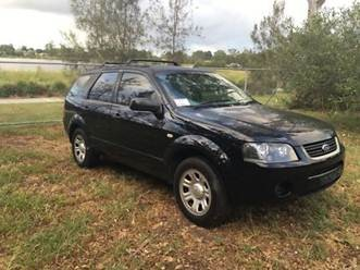 Police are searching for a vehicle similar to this with Qld rego 630 TUO.