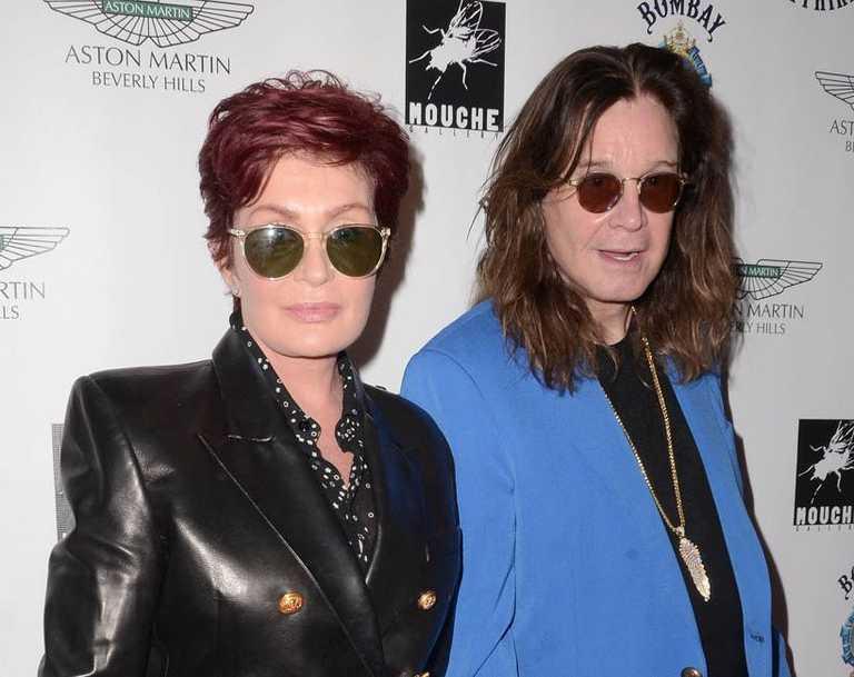 Sharon and Ozzy Osbourne.