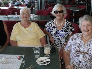 Club members start the year off with a luncheon in Caloundra