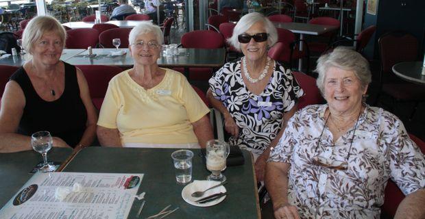 Elaine Davidson, Dorothy Taylor, Sue Goodman and Jenny Nelson
