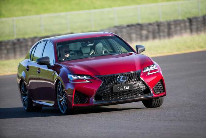 2016 Lexus GS F. Photo: Contributed.