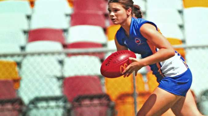 Noosa's Raegan Mills is hoping to get drafted into the AFL's new eight-team women's competition.