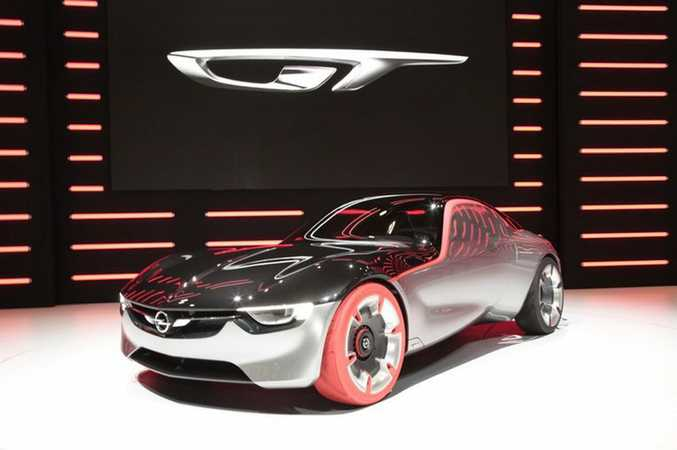 Opel GT Concept at the 2016 Geneva Motor Show. Photo: Contributed.