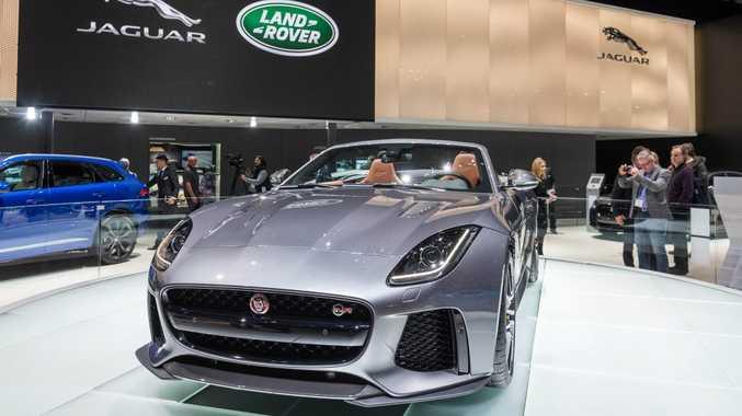 Jaguar F-Type SVR at the 2016 Geneva Motor Show. Photo: Contributed.