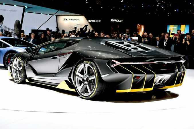 Lamborghini Centenario at the 2016 Geneva Motor Show. Photo: Contributed.