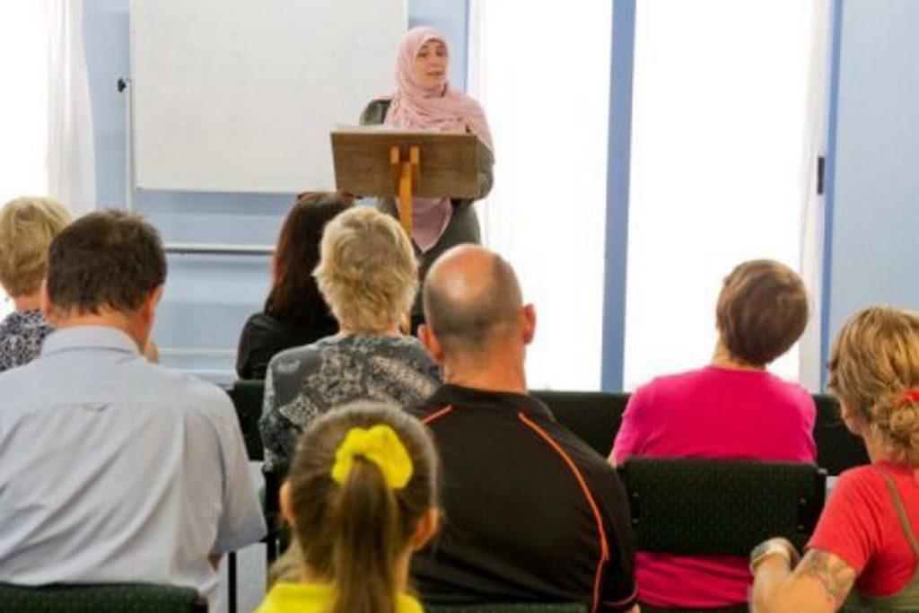 POSITIVE SESSION: An Islam awareness workshop in Bundaberg this week.