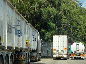 Infamous Melbourne bridge claims another truck