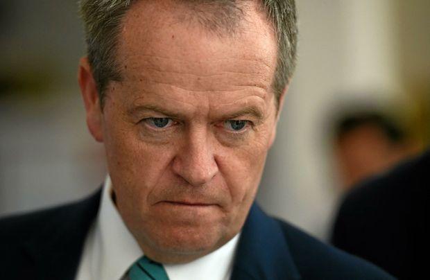 Federal Opposition Leader Bill Shorten