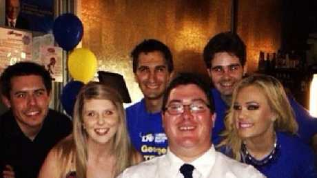 Tamara Candy with Mackay-based MP George Christensen.
