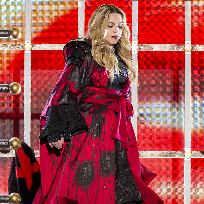 Madonna is reportedly very worried about her son Rocco and his father Guy Ritchie's influence on the teenager.