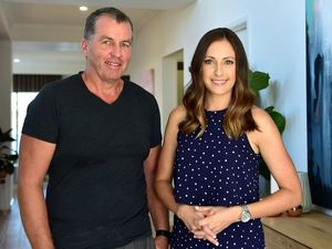 Dwyer Quality Homes owner Wayne Dwyer and former The Block contestant Dani Wales.