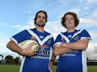 YOUNG GENERALS: Jack Horder, 18, and Luke Waters, 21, will lead Wallaroos in their Bundaberg Rugby League campaign this season.