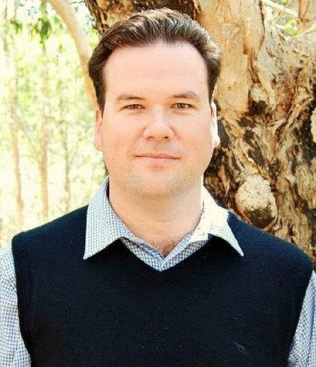GOING FOR COUNCIL: Scott McDonnell announces his Central Highlands Regional Council candidacy.