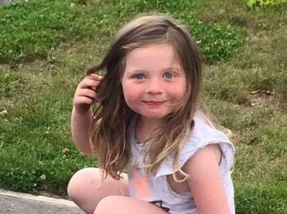 3-year-old Mila was found safe and well after going missing in Christchurch. Photo / Supplied