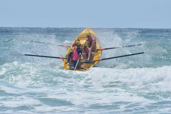 WINNERS: Alexandra Headland's open men's crew.