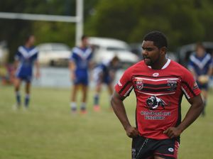 Wests' Will Nagas scores a try