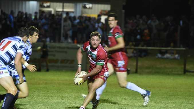 Hervey Bay Seagulls hooker Damien Otto. Bundaberg Rugby League Round 1 at Stafford Park, Hervey Bay. Photo Matthew McInerney / Fraser Coast Chronicle