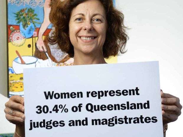 EQUALITY: Jennifer Howard is highlighting issues of gender parity during Queensland Women's Week.
