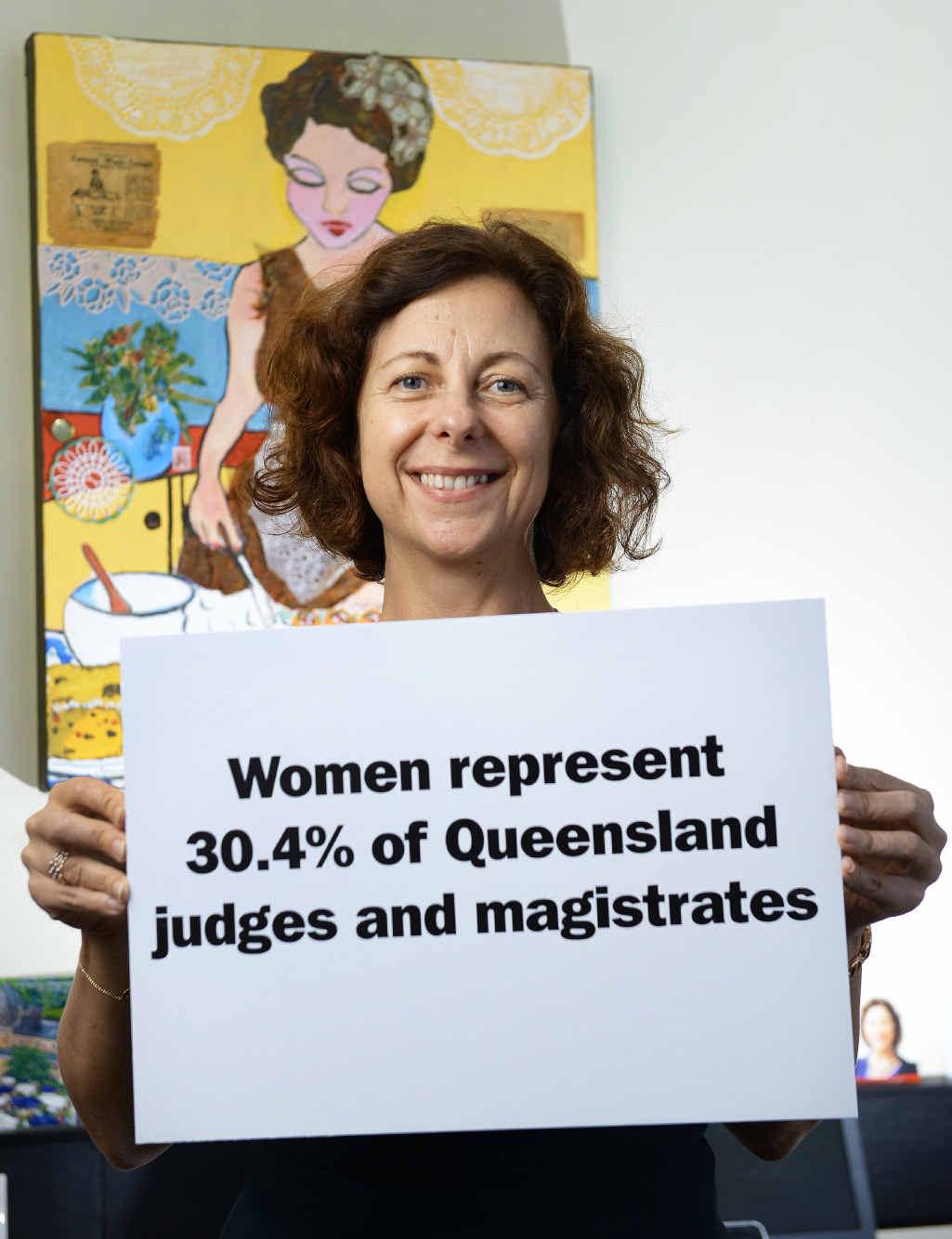 EQUALITY: Jennifer Howard is highlighting issues of gender parity during Queensland Women's Week.