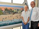Painting captures early days of Maroochydore surf club