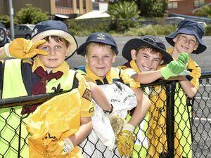 Toowoomba scouts help Clean Up Australia