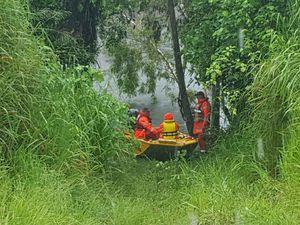 SES coordinator update Waterpark Creek rescue