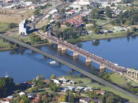 Artist's impression of the new Grafton Bridge.