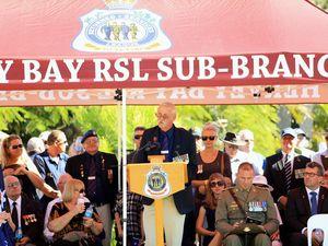 Hervey Bay RSL sub-branch president John Kelsey retires