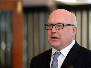 "George Brandis launches ""Yes"" campaign event"