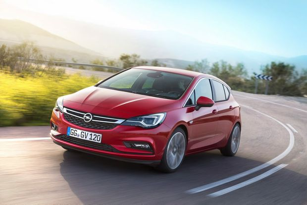 FUTURE PRODUCT: Award-winning Astra will be Holden badged for its arrival here.