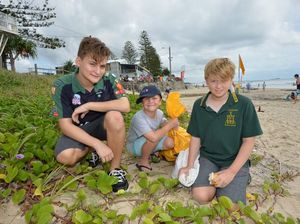 Clean up Australia Day at Alex Beach